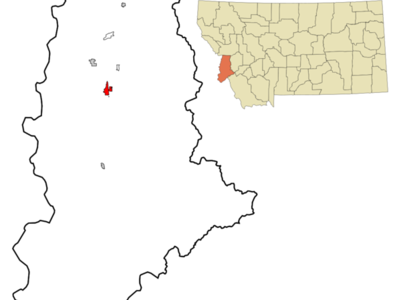 Location Of Hamilton Montana