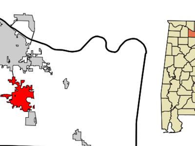 Location Of Hartselle Alabama