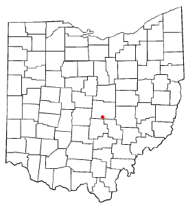 Location Of Hebron Ohio