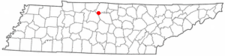 Location Of Hendersonville Tennessee