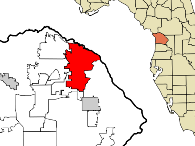 Location In Citrus County And The State Of Florida