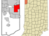 Location In The State Of Indiana
