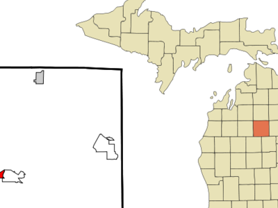 Location Of Houghton Lake Michigan