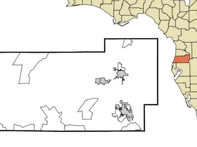 Location In Pasco County And The State Of Florida.