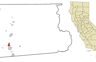 Location In Imperial County And The State Of California