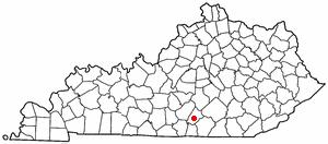 Location Of Jamestown Kentucky