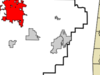 Location In Walker County And The State Of Alabama
