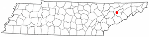 Location Of Jefferson City Tennessee