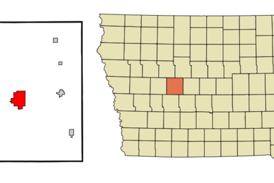 Location Of Jefferson Iowa