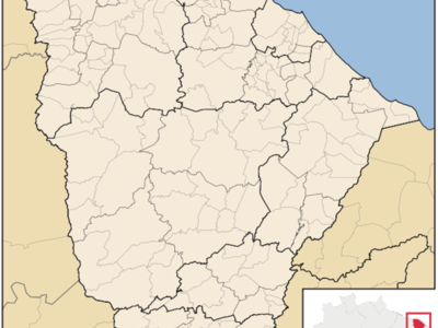 Location Of Juazeiro Do Norte In Cear
