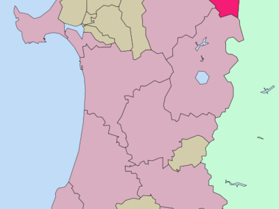 Location Of Kazuno In Akita Prefecture