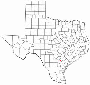 Location Of Kenedy Texas