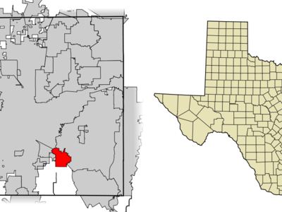 Location Of Kennedale In Tarrant County Texas