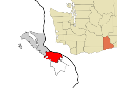 Location Of Kennewick Washington