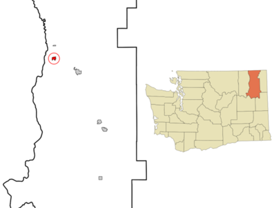 Location Of Kettle Falls Washington