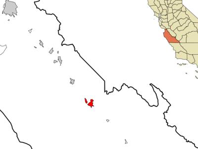 Location In California