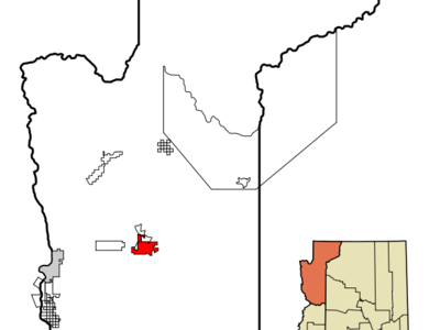 Location In Mohave County And The State Of Arizona