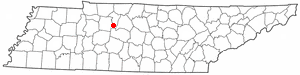 Location Of Kingston Springs Tennessee