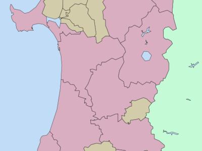 Location Of Kosaka In Akita