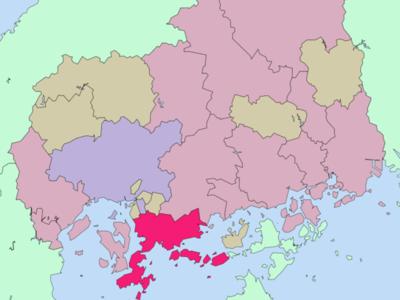 Location Of Kure In Hiroshima