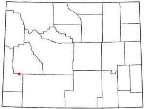 Location Of La Barge Wyoming