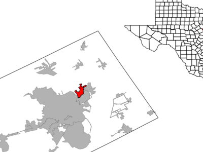 Location Of Lacy Lakeview Texas
