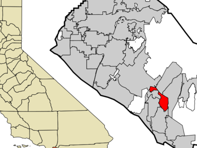 Location Of Laguna Hills Within Orange County California.