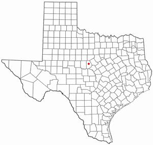 Location Of Lake Brownwood Texas