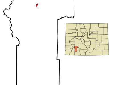 Location In Hinsdale County And The State Of Colorado