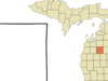 Location Of Lake City Michigan