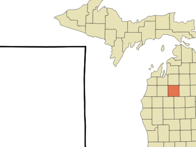 Location Of Lake City Michigan