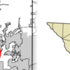 Location Of Lake Dallas In Denton County Texas