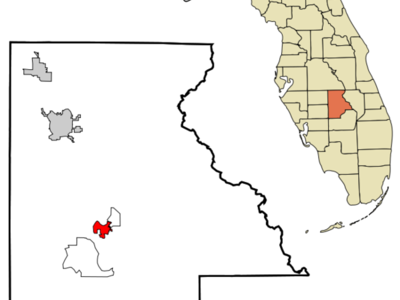 Location In Highlands County And The State Of Florida