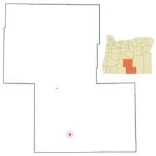 Location In Lake County And Oregon