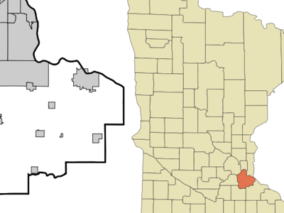 Location In Dakota County And The State Of Minnesota.