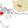 Location Of Lakewood In Pierce County And Washington