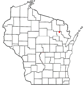 Location Of Lakewood Wisconsin