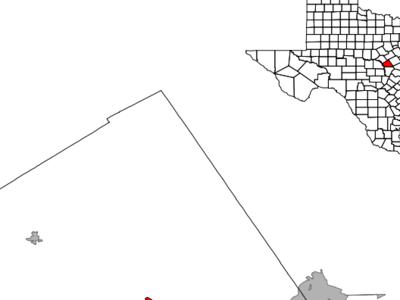 Location Of Lampasas Texas