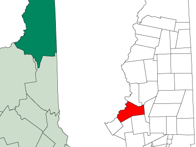 Location In Coos County New Hampshire