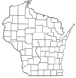 Location Of Land O Lakes Wisconsin