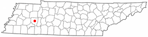 Location In Henderson County And The State Of Tennessee