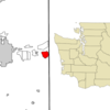 Location Of Liberty Lake Washington