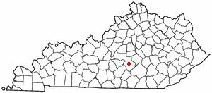 Location Of Liberty Kentucky