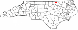 Location Of Littleton North Carolina