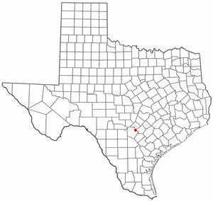 Location Of Live Oak Texas