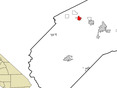 Location In Merced County And The State Of California