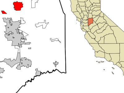 Location In San Joaquin County And The State Of California