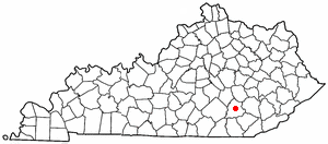 Location Of London Kentucky