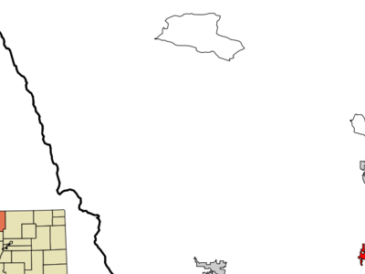 Location Of Loveland Shown Within Colorado