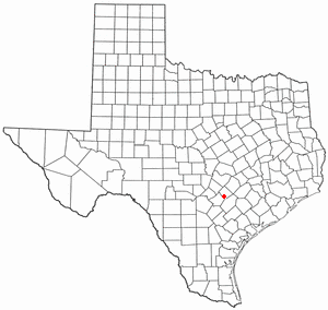 Location Of Luling Texas
